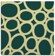 rug #906489 | square yellow abstract rug