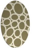 rug #906552 | oval circles rug
