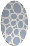rug #906576   oval abstract rug