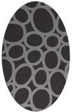rug #906719 | oval abstract rug