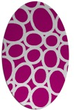 rug #906721 | oval abstract rug