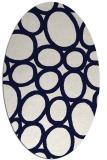 rug #906775 | oval circles rug
