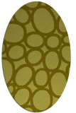 rug #906853 | oval light-green circles rug