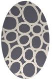 rug #906884   oval abstract rug