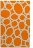 rug #906885 |  orange circles rug