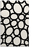 rug #906889 |  black circles rug