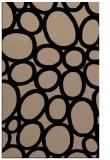rug #906897 |  beige circles rug