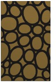 rug #906905 |  mid-brown circles rug