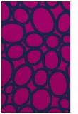 rug #906921 |  blue circles rug