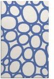 rug #906933 |  blue circles rug