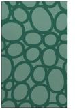 rug #906941 |  blue-green retro rug