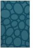 rug #906957 |  blue-green circles rug