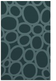 rug #906961    blue-green abstract rug