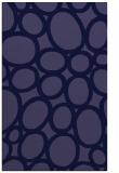 rug #906973 |  blue-violet circles rug