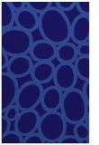 rug #906989 |  blue-violet abstract rug