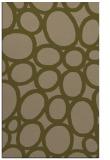 rug #907001 |  brown circles rug