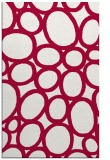rug #907005 |  red circles rug
