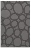 rug #907033 |  mid-brown circles rug