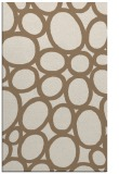 rug #907037 |  mid-brown circles rug