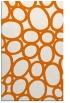 rug #907089 |  orange circles rug