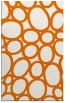 rug #907089 |  orange abstract rug
