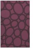 rug #907117 |  purple abstract rug