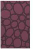 rug #907117 |  purple circles rug