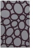 rug #907129 |  purple abstract rug