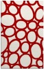 rug #907133 |  red circles rug