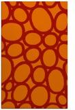 rug #907137 |  orange circles rug