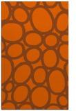 rug #907157 |  red-orange retro rug