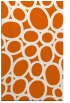 rug #907161 |  red-orange circles rug