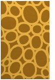 rug #907205 |  yellow circles rug