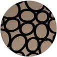 rug #907257 | round beige circles rug