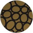 rug #907265 | round black retro rug