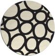 rug #907269   round black circles rug