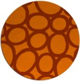 rug #907499 | round abstract rug