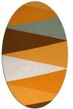rug #908677 | oval graphic rug
