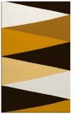 rug #908997 |  brown graphic rug