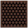 rug #909781 | square black popular rug