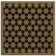 rug #909785   square mid-brown geometry rug