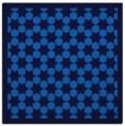 rug #909797 | square blue rug