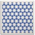 rug #909813 | square blue borders rug