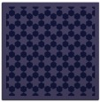 rug #909853 | square blue-violet borders rug