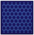 rug #909869 | square blue-violet borders rug