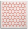 rug #909993 | square white borders rug