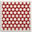 rug #910021   square red borders rug