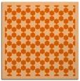 rug #910033 | square red-orange rug