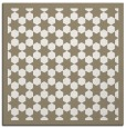 rug #910065 | square white geometry rug