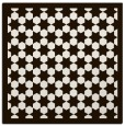 rug #910077 | square brown borders rug